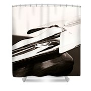 Nash Hood Ornament Shower Curtain