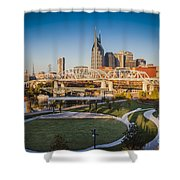 Nashville Morning Shower Curtain