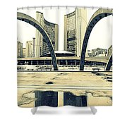Nathan Phillips Square Shower Curtain