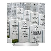 National Cemetery Of The Alleghenies Shower Curtain