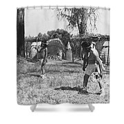 Native American Games Shower Curtain