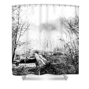 Natural Ice Fog  Shower Curtain