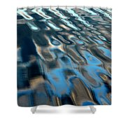 Natural Water Abstract Shower Curtain
