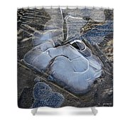 Nature Abstraction Shower Curtain