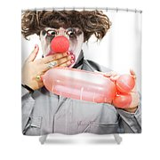 Naughty Thoughty Shower Curtain