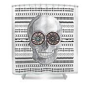 Navajo Skull Shower Curtain