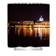 Naval Academy In Annapolis 2 Shower Curtain