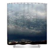 Nebraska Mammatus A Cometh Shower Curtain
