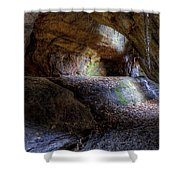 Nelson Kennedy Ledges Shower Curtain