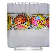 Net Balls Shower Curtain
