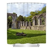 Netley Abbey Shower Curtain