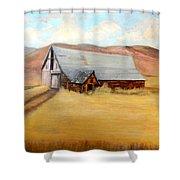 Nevada Barn Shower Curtain