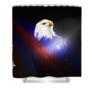 Never Forgotten Without Border Shower Curtain