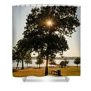 New Bedford Massachusetts 2 Shower Curtain