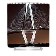 New Cooper River Bridge Shower Curtain