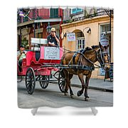 New Orleans - Carriage Ride Shower Curtain