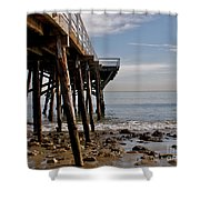 New Photographic Art Print For Sale Paradise Cove  Shower Curtain