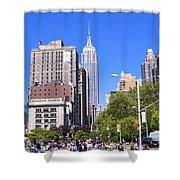 1-new York City Shower Curtain