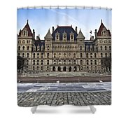 New York State Capitol Building Shower Curtain