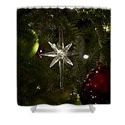 Night View Christmas Tree   1 Of 4 Shower Curtain