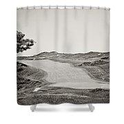 Ninth Hole Shower Curtain