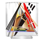 No. 556 Shower Curtain