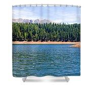 North Catamount Lake Shower Curtain