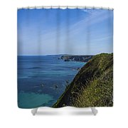 Photographs Of Cornwall North Coast Cornwall Shower Curtain