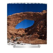 North Window Arches National Park Utah Shower Curtain