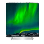 Northern Lights Or Aurora Borealis Shower Curtain