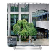 Northside Alpharetta Medical Campus A . Second View Shower Curtain