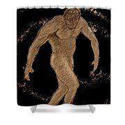 Nude Act Shower Curtain