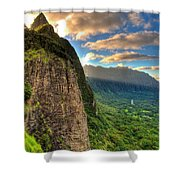 Oahu Paradise Shower Curtain