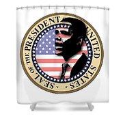 Obama-1 Shower Curtain