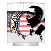 Obama-2 Shower Curtain
