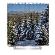 Oberharz Shower Curtain