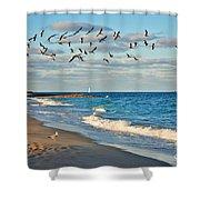 1- Ocean Reef Park Shower Curtain