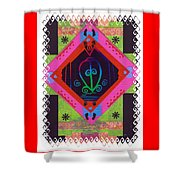 Odo Nyera Fie Kwan--- Love Does Not Get Lost On The Way Home Shower Curtain