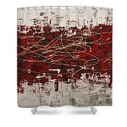 Off Limits Shower Curtain