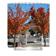 Ohio Trees Shower Curtain