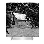 Old Barn 4 Shower Curtain