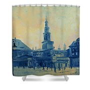Old Poznan Shower Curtain