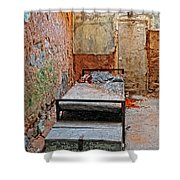 Old Prison Cell Shower Curtain