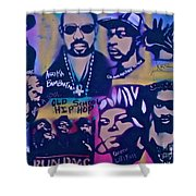 Old School Hip Hop 3 Shower Curtain