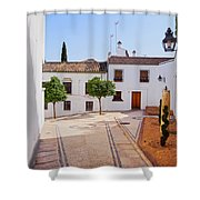 Old Town In Cordoba Shower Curtain