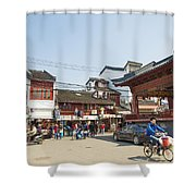 Old Town Of Shanghai China Shower Curtain