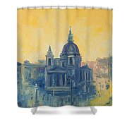 Old Warsaw  Shower Curtain