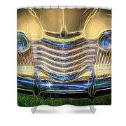 Oldsmobile Shower Curtain