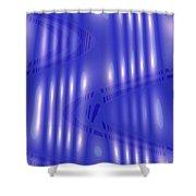 Omnetra Moveonart Radventure Shower Curtain