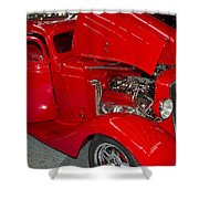 One Hot Rod Shower Curtain